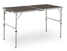 ALUMINUM TWO FOLDING TABLEモダンブラウン